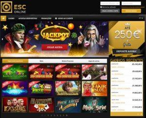 screenshot esc online casino estoril