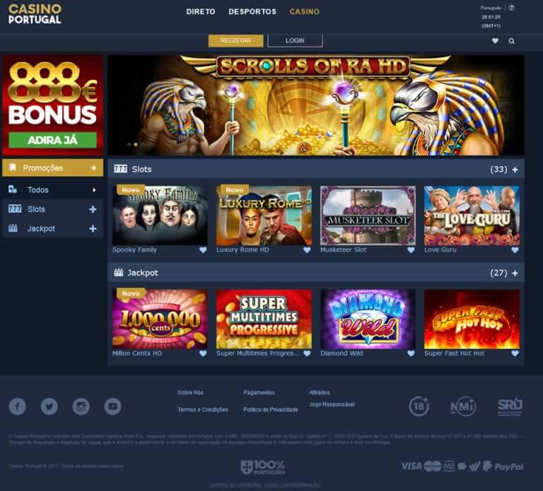 screenshot casino portugal